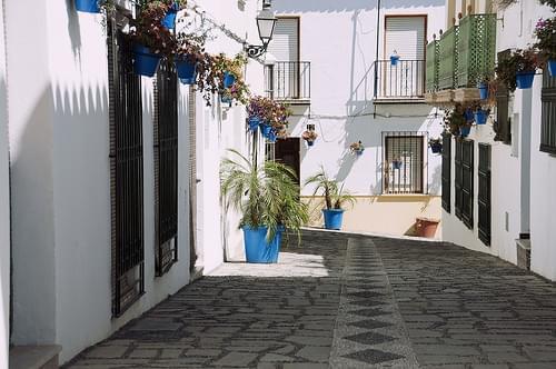 Estepona: Calle