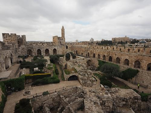 Tower of David museum - Jerusalem