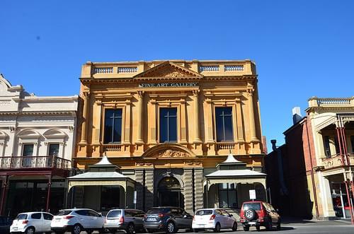 Georgian facade - Ballarat Fine Art Gallery