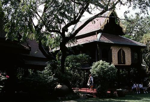 Suan Pakkad (Cabbage Palace) in Bangkok, Thailand