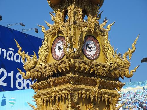 Chiang Rai clock tower (3)