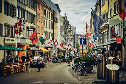 Historic Center, Zurich