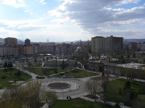 俯瞰Kayseri古城