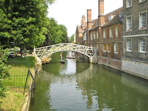 Mathematical Bridge at Cambridge, England