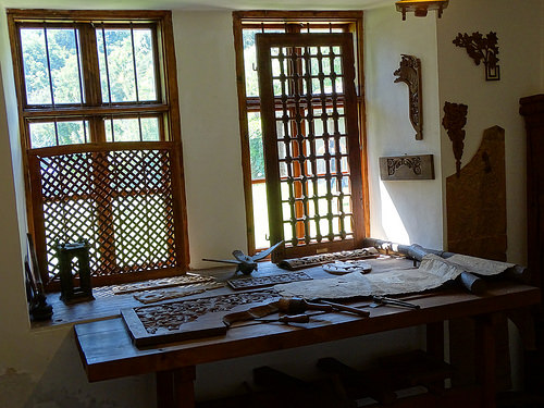 Recreation of Woodcarver's Workshop - Daskalov House - Tryavna - Bulgaria