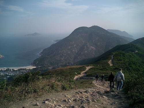 Hong Kong - Dragon's back trail