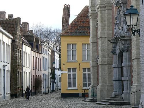 béguinage of Lierre / begijnhof van Lier, Flanders - Belgium
