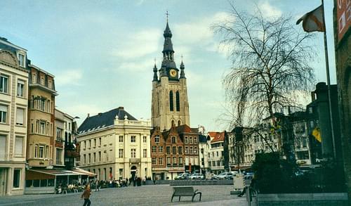 Kortrijk in Belgium