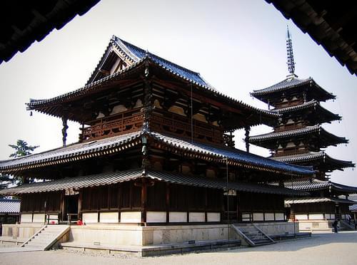 Horyu-ji: Kondo & Gojunoto