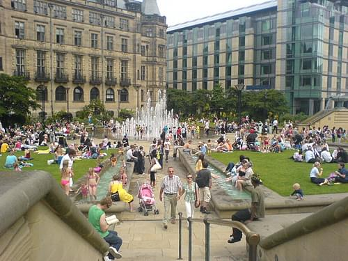 Sheffield Peace Garden