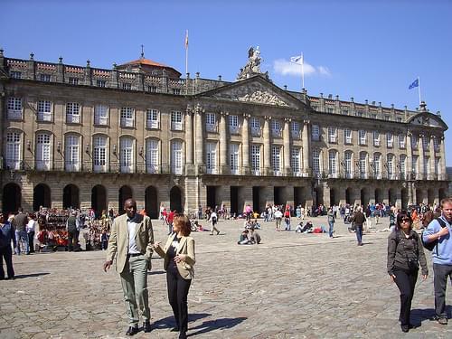 Pazo de Raxoi, Santiago de Compostela, Galicia