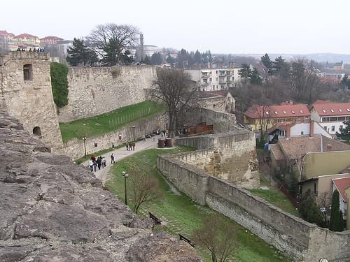 Visitors' Entrance to Eger Castle