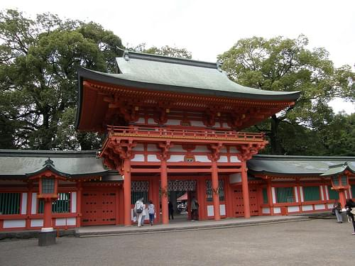 氷川神社楼門/Hikawa Shrine Gate