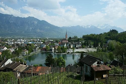 Postkarte aus Werdenberg