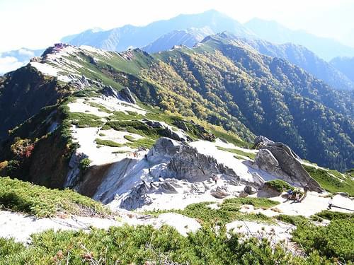 Mt.Tsubakuro~伸びる稜線