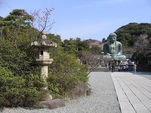 Kotoku-in: Lantern & Daibutsu