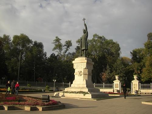 Monument to Stephen the Great of Moldova