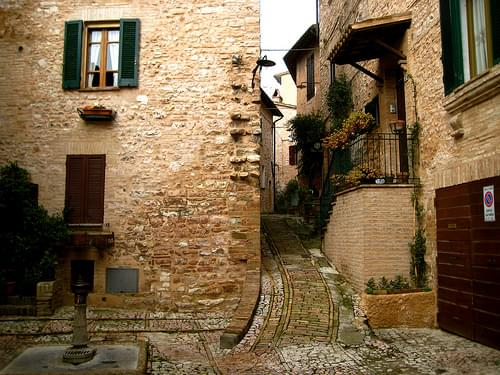 Historic Center, Spello