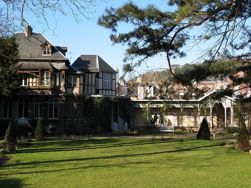 Maurice Leblanc's house - Etretat