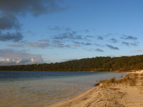 Lake Birrabeen, Fraser Island