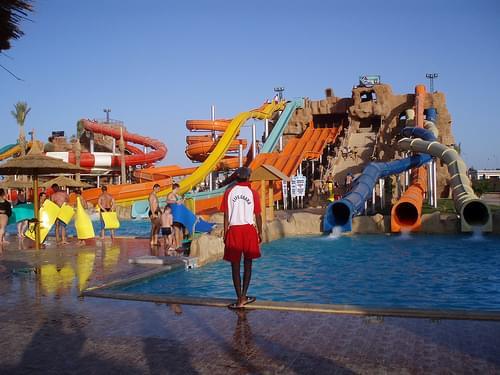 Aqua Park's Water Slides