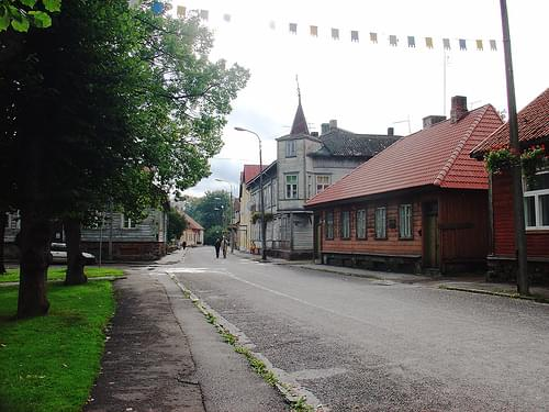 View of street, Viljandi