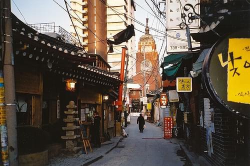 Old town, Seoul, South Korea