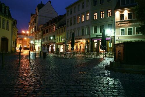 Weimar bei Nacht