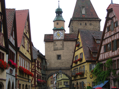 Rothenburg: Röderbogen