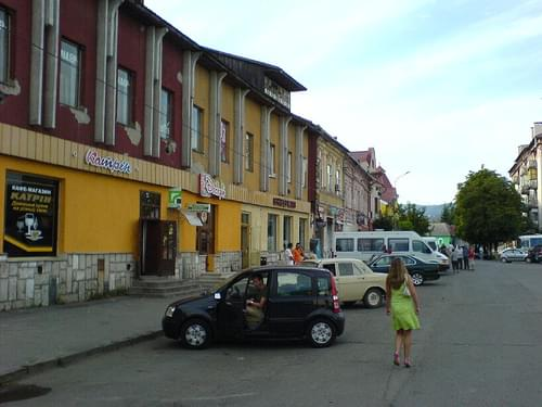 Historic Center, Mukacheve