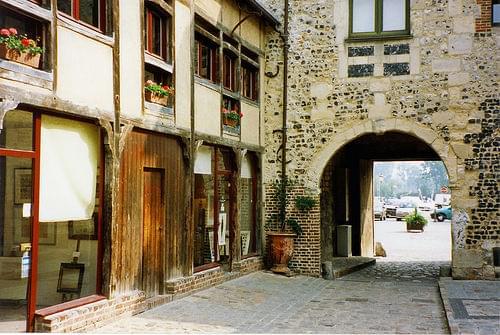 Portal Honfleur Old Arch