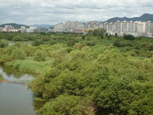 Blick auf Gongju