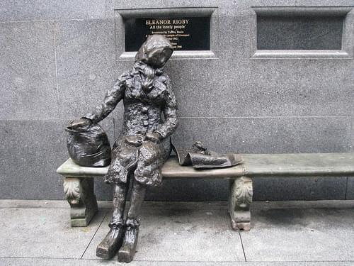 Eleanor Rigby Statue, Liverpool