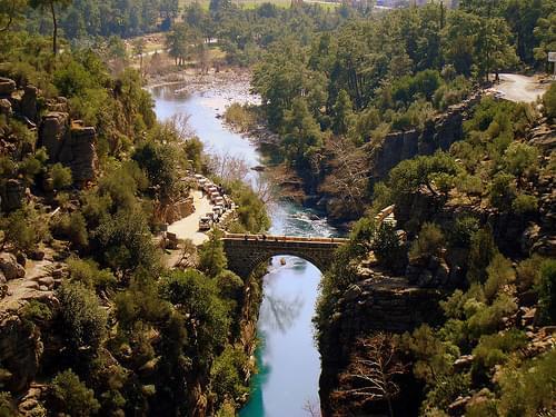 Köprülü Kanyon'un Köprüsü