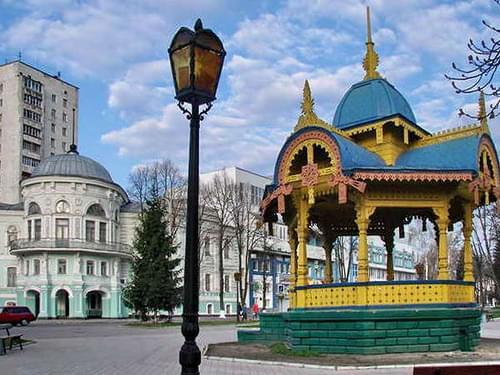 Sumy, Ukraine. Altanka
