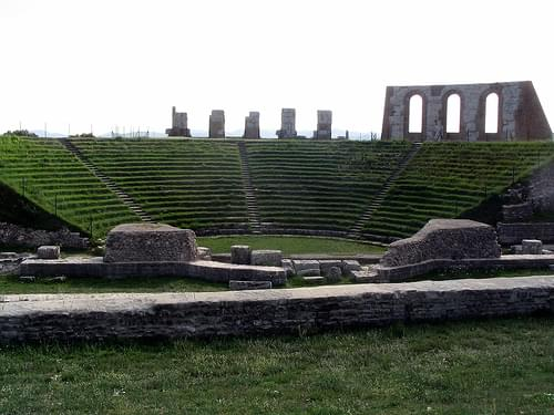 Gubbio, Roman theater