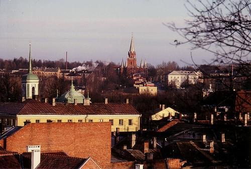 Tartu 1992 von oben