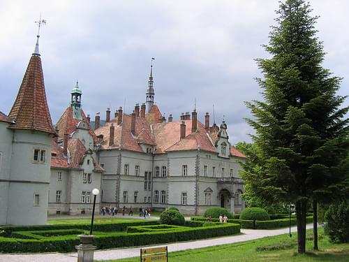 Castle Schonborn, Mukacheve