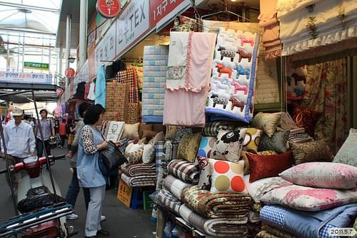 seo moon market in daegu