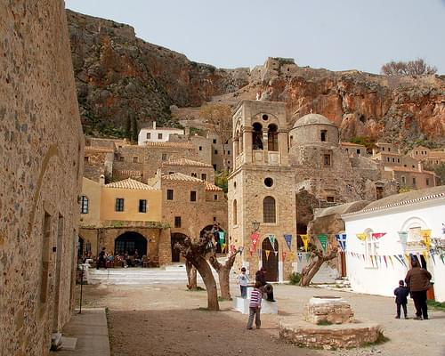 Djami Square, Monemvasia