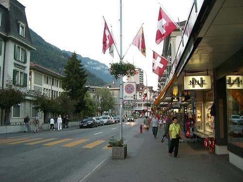Historic Center, Les Diablerets