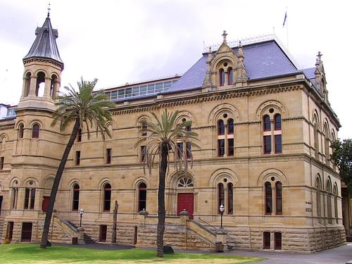 South Australian Museum, Adelaide 2001