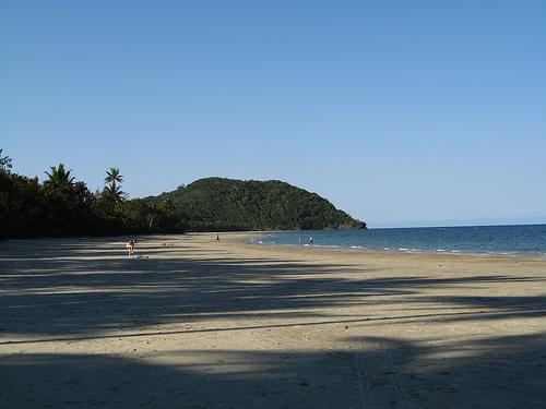 Cape Tribulation Beach - Looking North