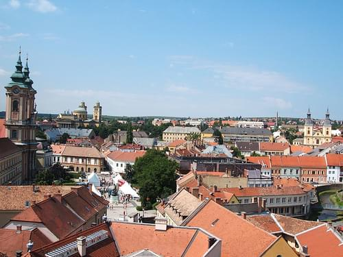 Eger from the hill