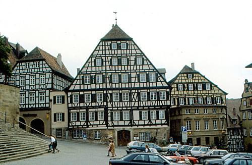 Schwäbisch Hall - Clausnitzer Haus