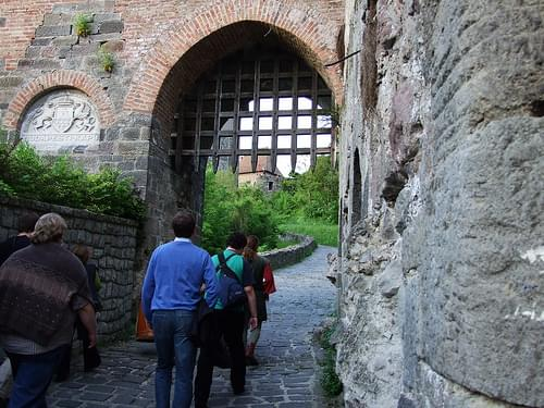 Lower Castle Visegrad