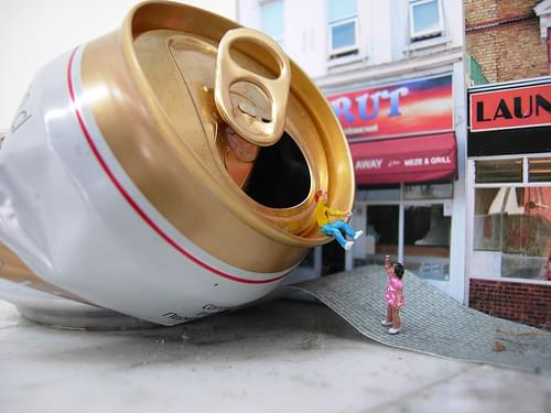 The world of Slinkachu