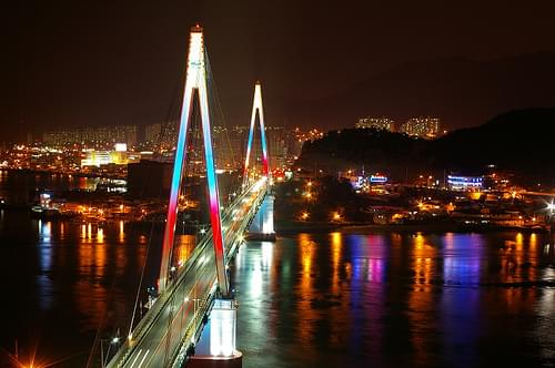 Yeosu  dolsan big bridge-Expo 2012  Yeosukorea