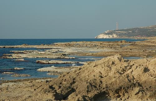 Achziv Beach - Low Tide - 20 January 2008