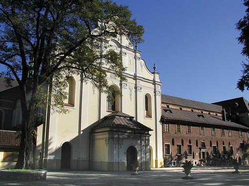 Kraków - Mogiła, opactwo oo. Cystersów i kościół św. Bartłomieja